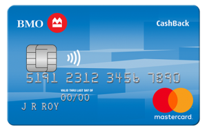 BMO Cash Back MasterCard