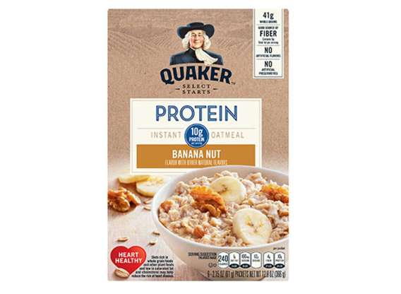 Quaker Protein Instant Oatmeal—Banana Nut
